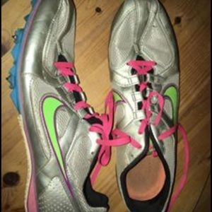 Track Sprinting Spikes Shoes